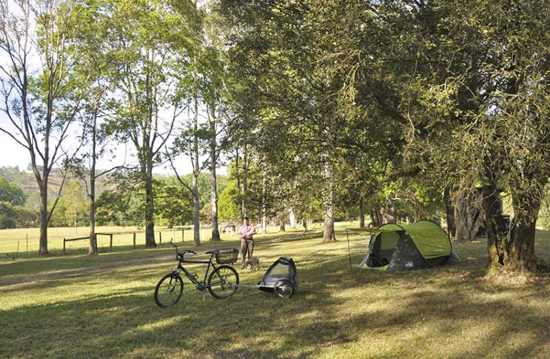 Bike Campingwhat A Great Way To Travel Light Bike Camping At The Channon Village Campground