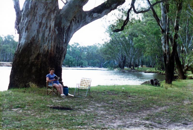 Camping At Murray River Reserve